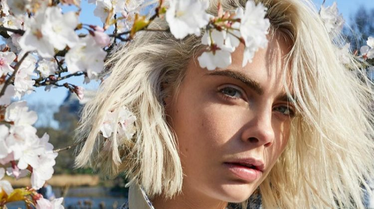 Cara Delevingne Returns for Burberry 'Her Blossom' Fragrance Ad