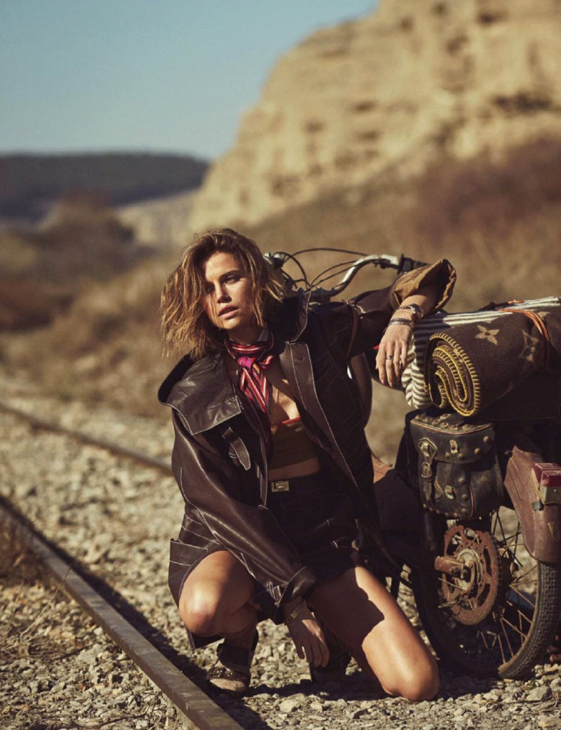 Cato Van Ee is A Fashion Explorer for ELLE Spain