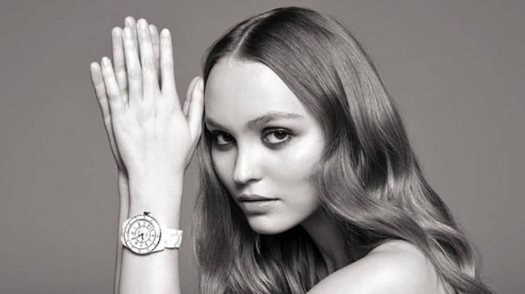 Lily-Rose Depp stars in Chanel J12 Watch campaign