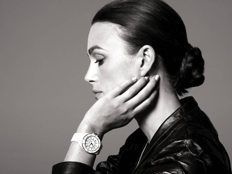Keira Knightley fronts Chanel J12 Watch campaign