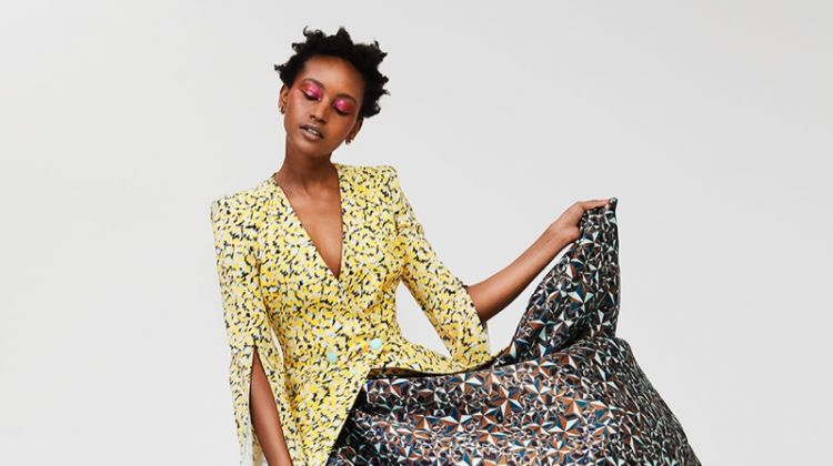 Christelle Yambayisa Wears Eye-Catching Looks in Marie Claire Netherlands