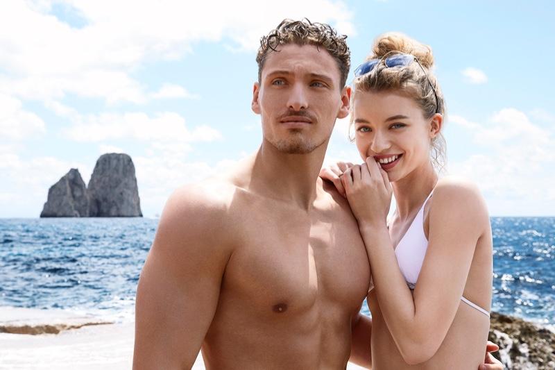 Gennaro Lillio and Giulia Maenza star in Dolce & Gabbana Light Blue Sun fragrance campaign