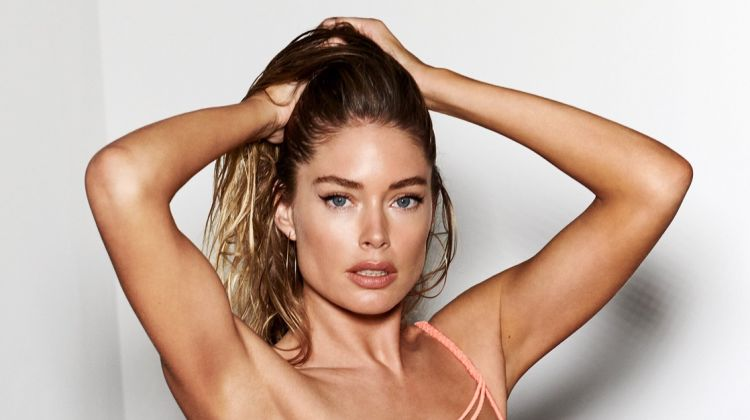 Doutzen Kroes Dives Into Hunkemoller Swim '19 Collection