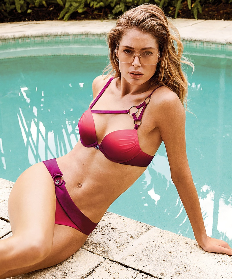Doutzen Kroes models bikini set from Hunkemoller summer 2019 collaboration