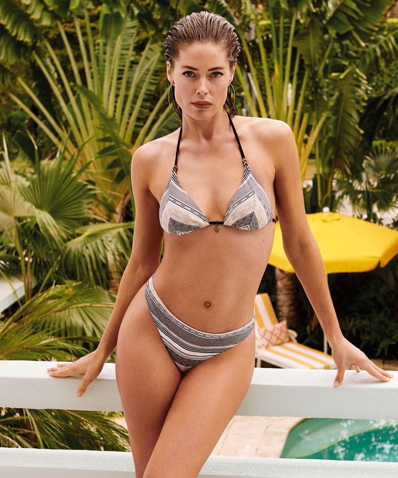 Model Doutzen Kroes fronts Hunkemoller Doutzen Summer Stories 2019 campaign