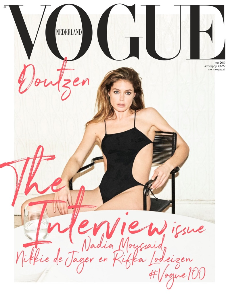 Doutzen Kroes on Vogue Netherlands May 2019 Cover