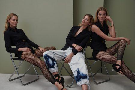 Michaela, Denisa & Linda Celebrate ELLE Czech's 25th Anniversary