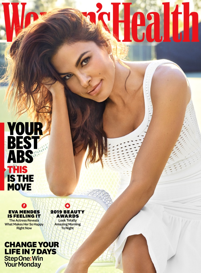 Eva Mendes on Women's Health May 2019 Cover