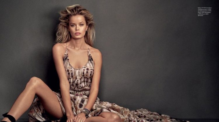 Frida Aasen Wears On-Trend Looks for ELLE Norway