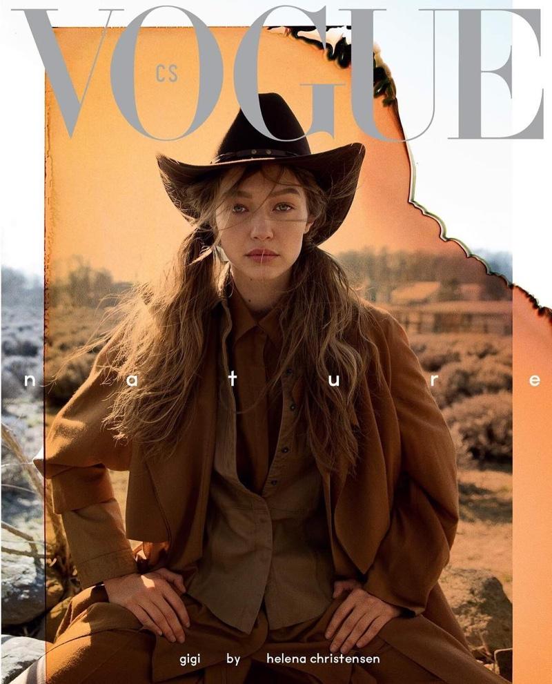 f9fb2a4f Gigi Hadid Vogue Czechoslovakia 2019 Cover Fashion Shoot