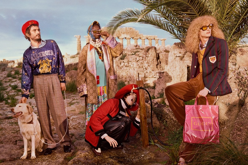 8b7c8dd63 ... Glen Luchford captures Gucci pre-fall 2019 campaign