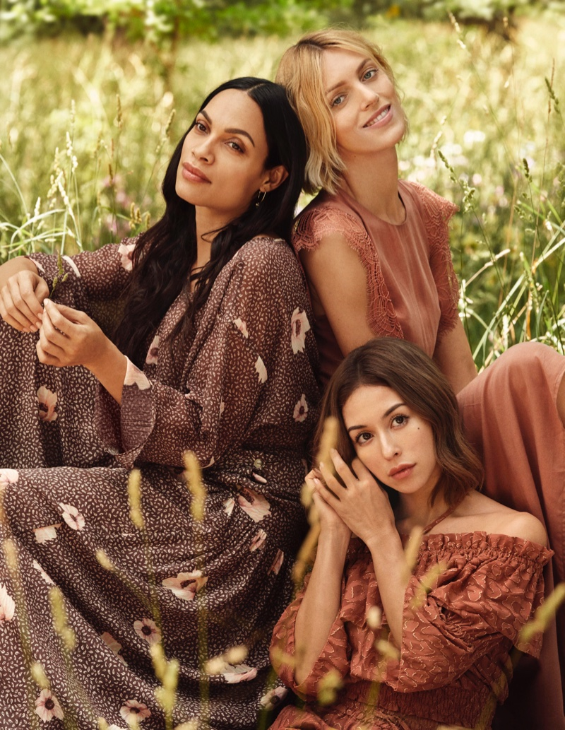 Rosario Dawson and Anja Rubik star in H&M Conscious Collection 2019 campaign
