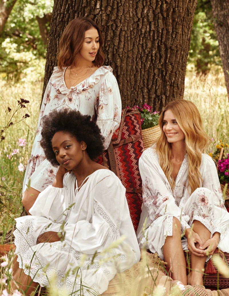 Looks from the 2019 H&M Conscious Collection