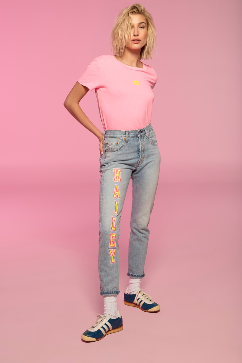 Hailey Baldwin stars in Levi's Festival spring 2019 campaign