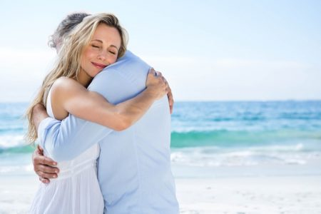 Attractive Happy Couple at the Beach