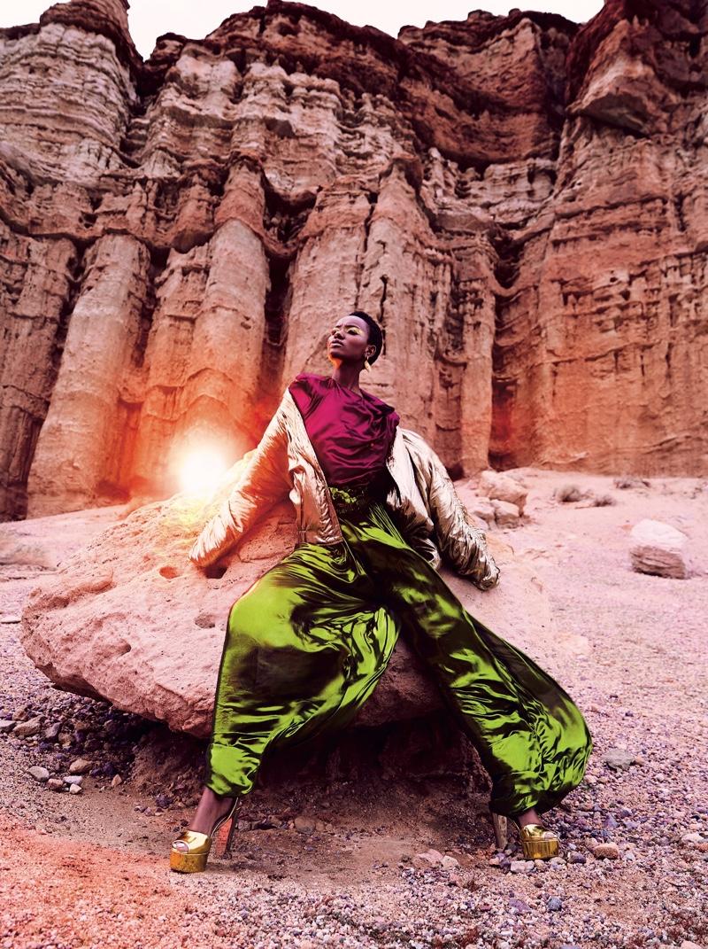 Herieth Paul Heads to Mars for Dress to Kill Magazine