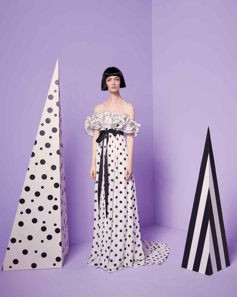 Ida Dyberg Goes Crazy for Polka Dots in How to Spend It