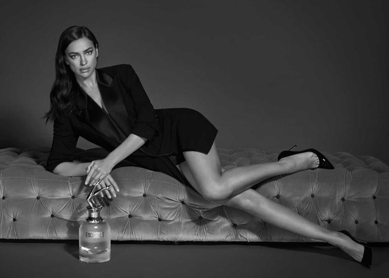 Supermodel Irina Shayk becomes the face of Jean Paul Gaultier's new fragrance