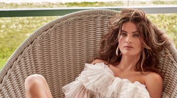 Isabeli Fontana Embraces Embellished Fashions for Alexa