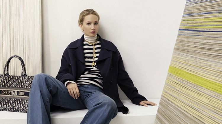 Jennifer Lawrence Looks Relaxed in Dior Pre-Fall 2019 Campaign