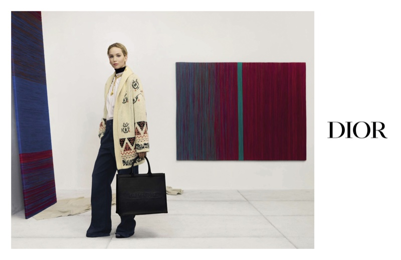 Jennifer Lawrence stars in Dior pre-fall 2019 campaign
