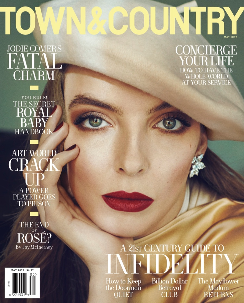 Jodie Comer on Town & Country May 2019 Cover