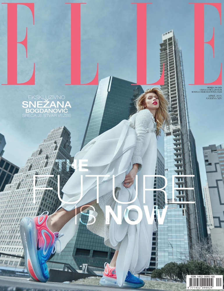 Josie Canseco Models Sleek Fashion for ELLE Serbia