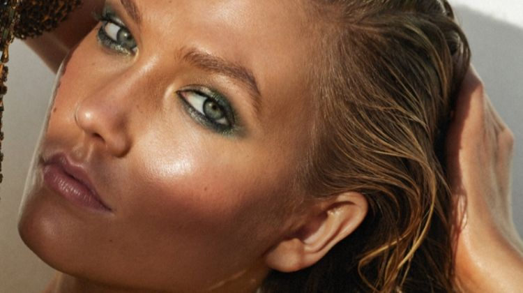 Karlie Kloss Wears Ultra-Bronzed Beauty for Vogue Paris