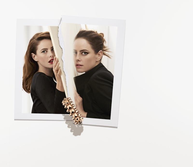 Kaya Scodelario stars in Clash de Cartier jewelry campaign