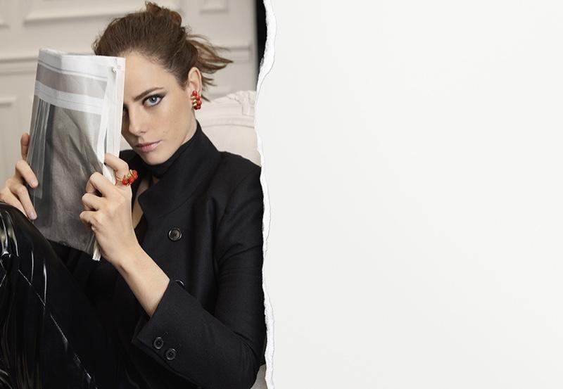 Cartier enlists Kaya Scodelario for Clash de Cartier campaign
