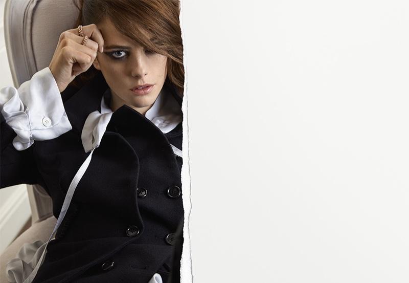 Actress Kaya Scodelario fronts Clash de Cartier campaign