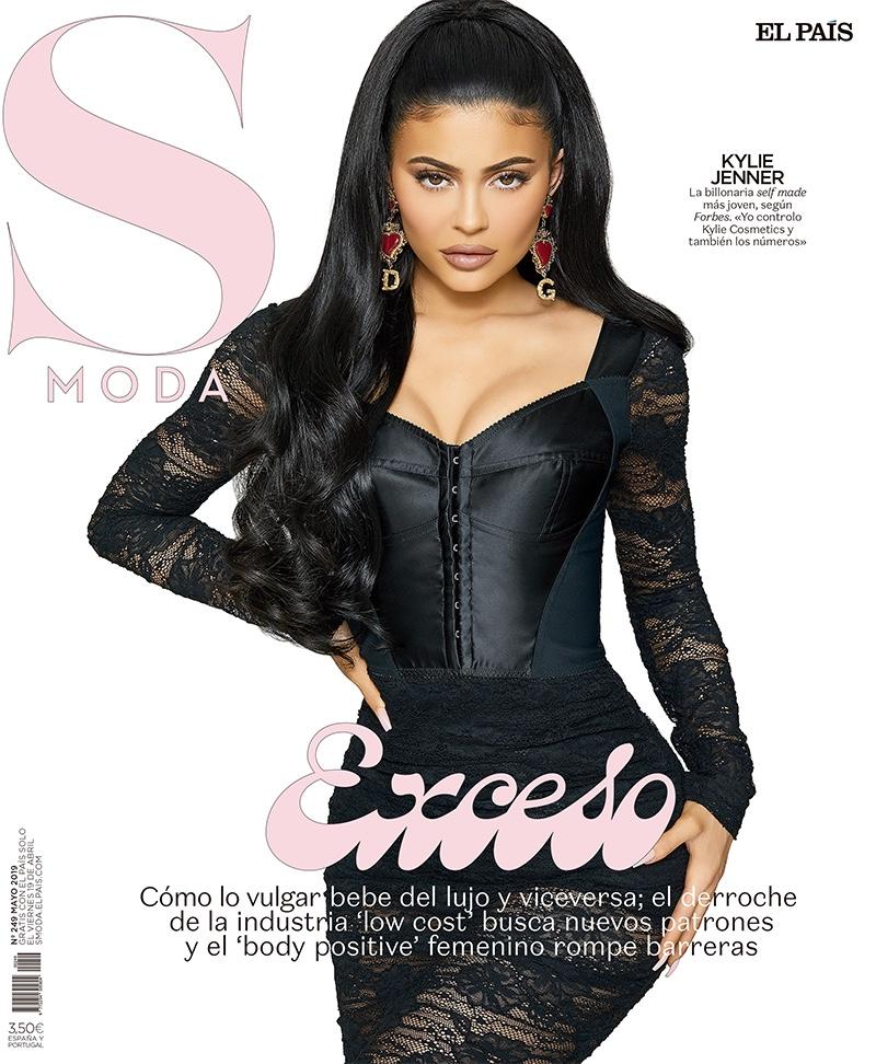 Kylie Jenner on S Moda April 2019 Cover