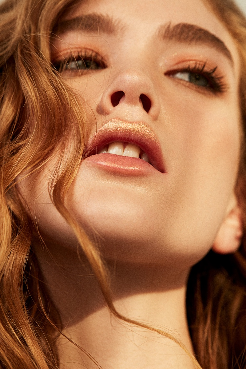 Lindsay Whidby Shines for Marie Claire Serbia Beauty Spread