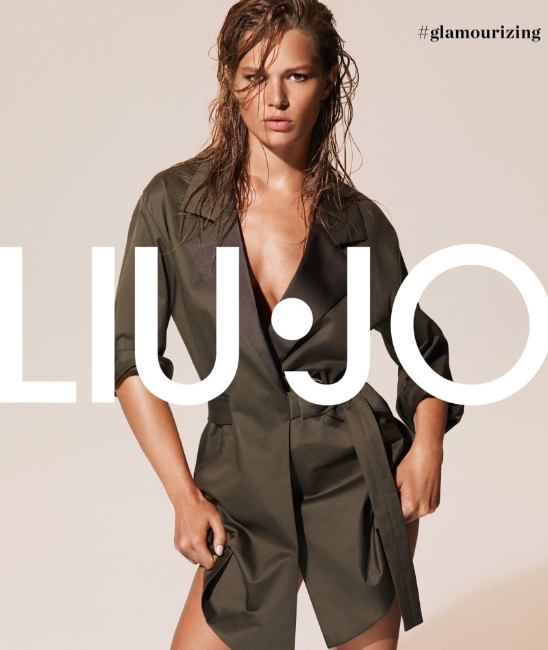 Liu Jo taps Anna Ewers for its spring-summer 2019 campaign