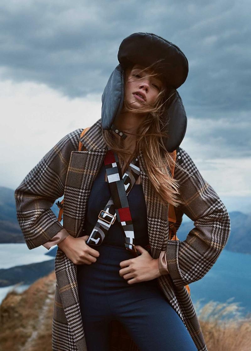 Lorena Rae Is A Natural Beauty for Grazia Australia