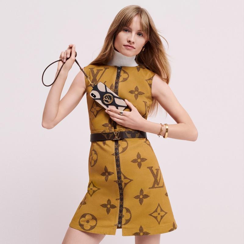 Klara Kristin stars in Louis Vuitton Monogram Giant campaign
