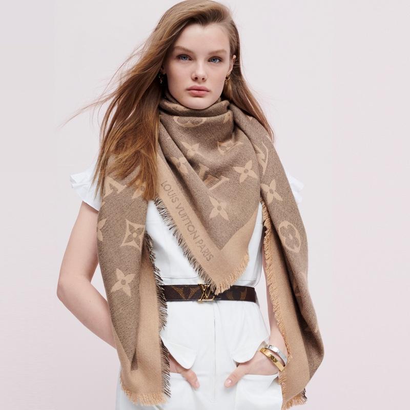 Kris Grikaite fronts Louis Vuitton Monogram Giant campaign