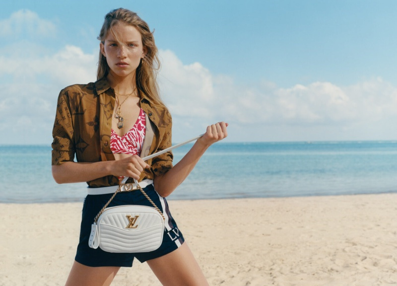 Rebecca Leigh Longendyke stars in Louis Vuitton summer '19 campaign