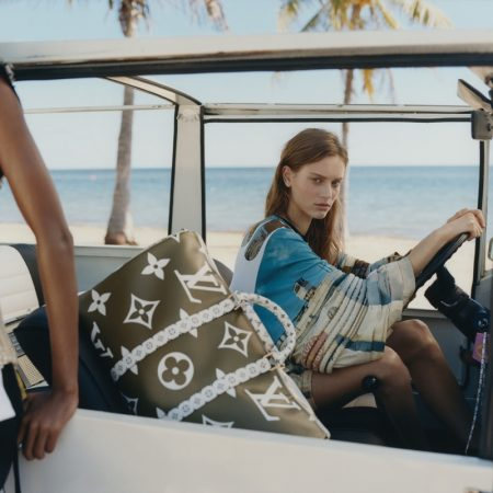 Sarah Dahl stars in Louis Vuitton summer 2019 campaign
