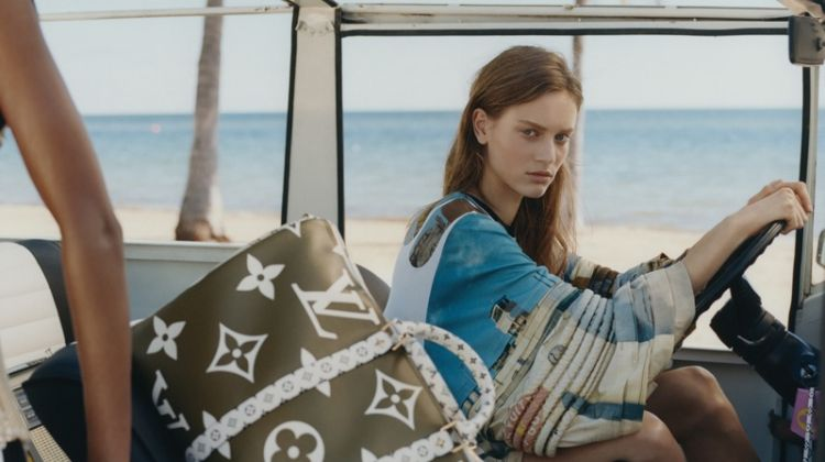 Sarah Dahl stars in Louis Vuitton summer 2019 campaign