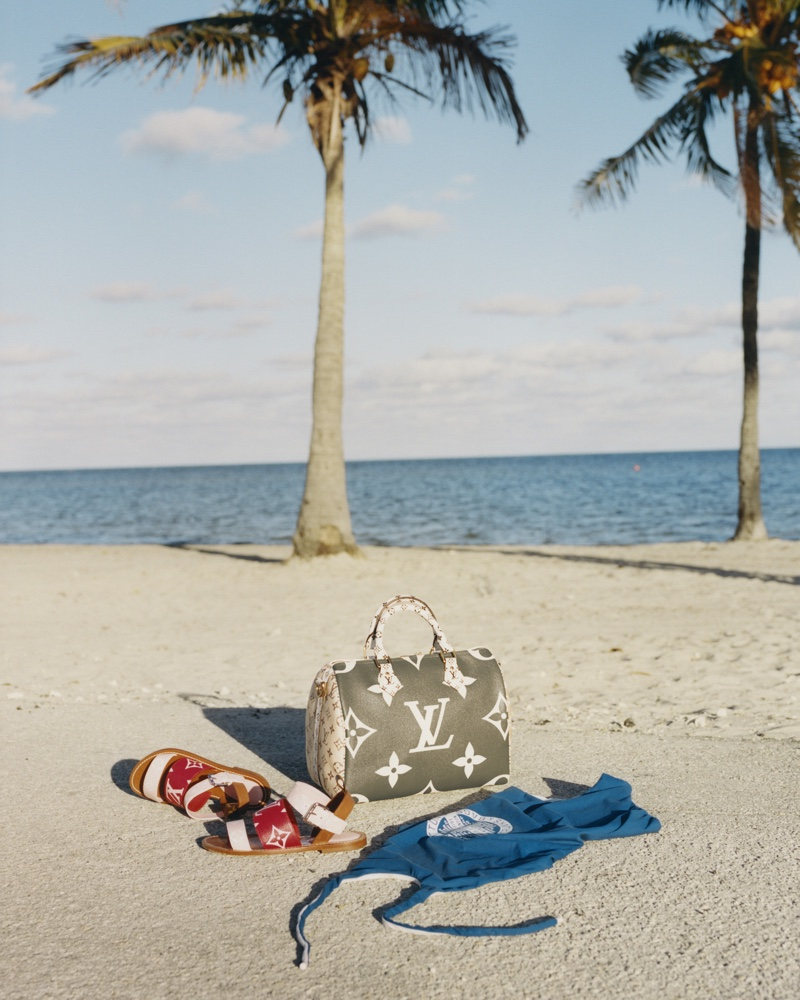 An image from the Louis Vuitton summer 2019 advertising campaign