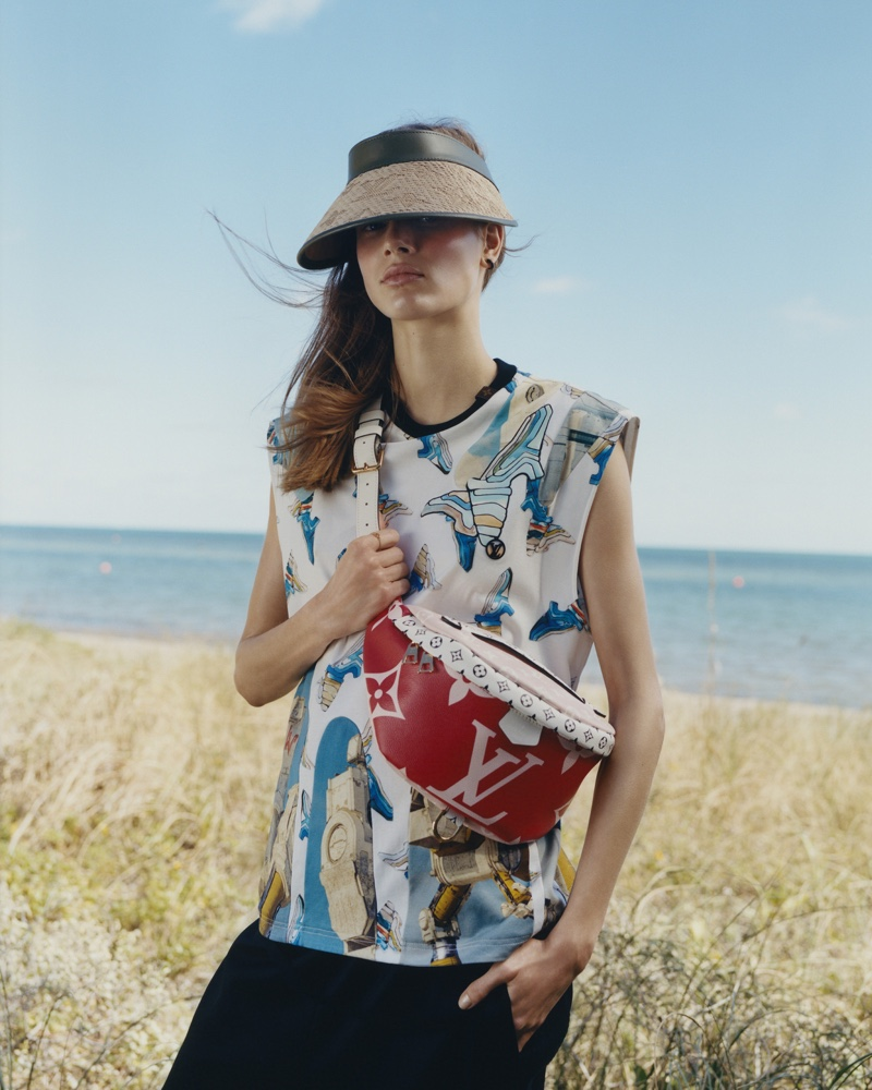 Model Sarah Dahl fronts Louis Vuitton summer 2019 campaign