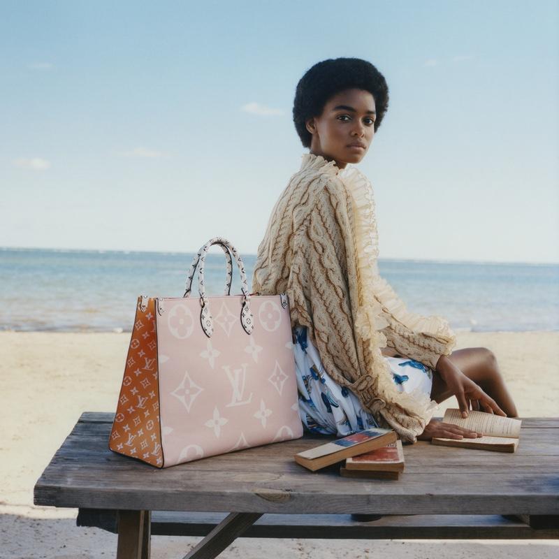Blésnya Minher fronts Louis Vuitton summer 2019 campaign
