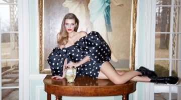 Madison Headrick Models Luxe Looks for Bergdorf Goodman