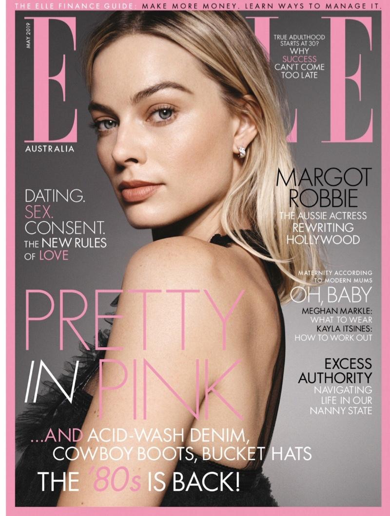 Margot Robbie on ELLE Australia May 2019 Cover
