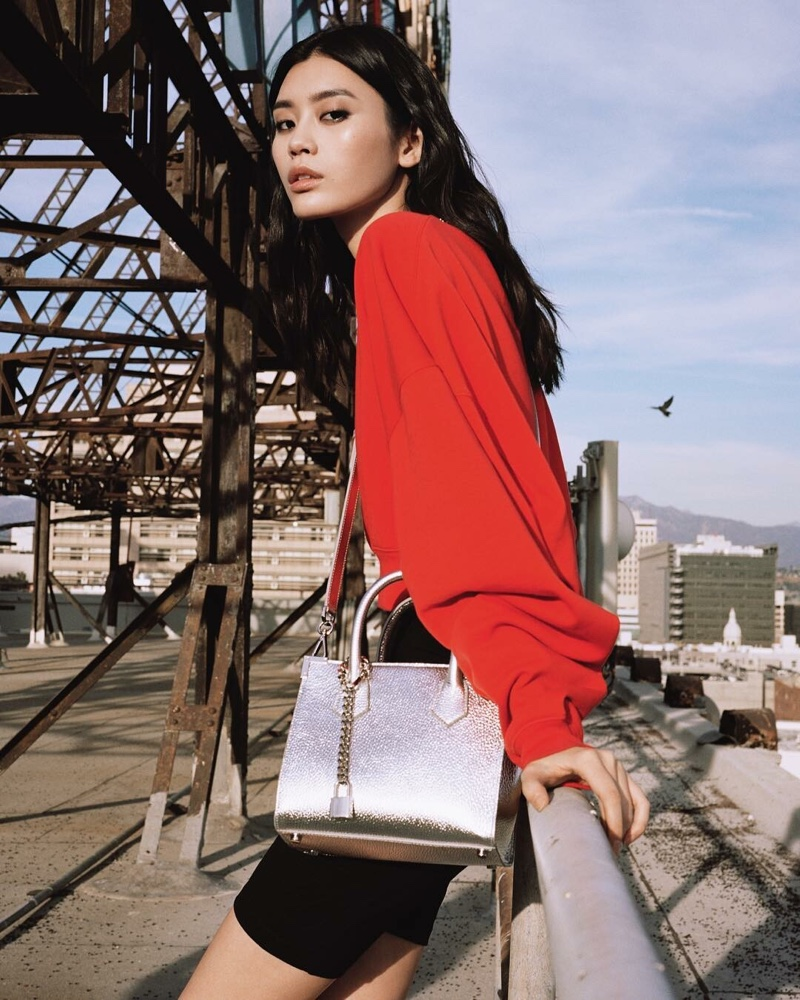 The Kooples and Ming Xi create a spring 2019 capsule collection of handbags
