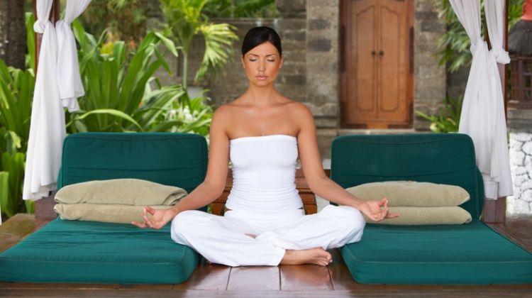 Model White Yoga Retreat