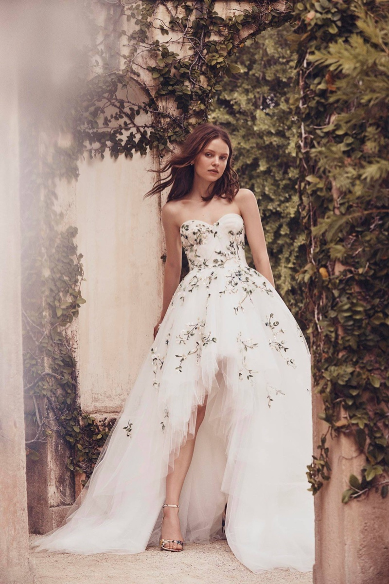 Monique Lhuillier Bridal Spring 2020 Wedding Dresses ...
