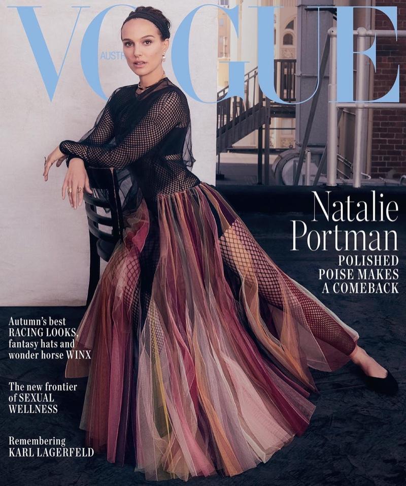 Natalie Portman on Vogue Australia April 2019 Cover