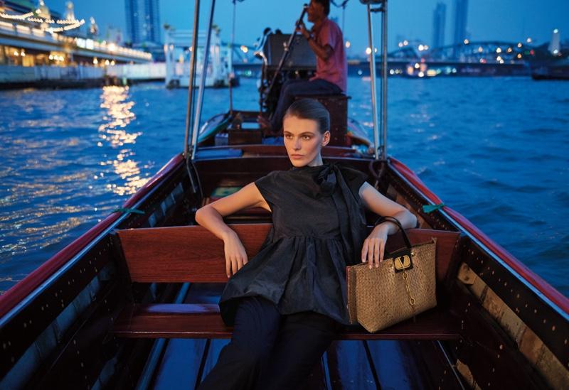 Madison Headrick stars in Neiman Marcus Art of Travel campaign